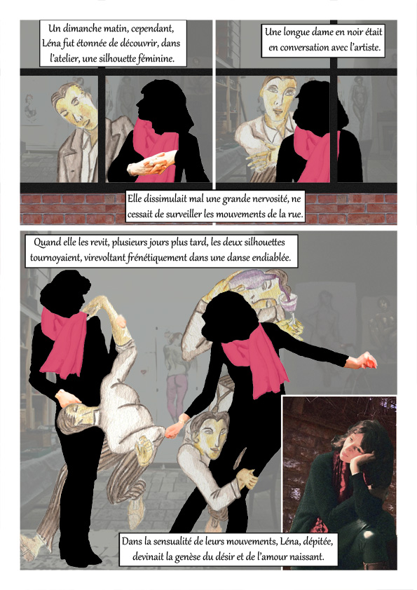 Extrait page 5 du Peintre de Désir